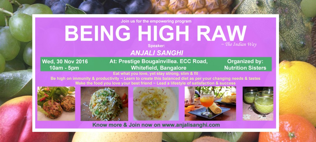 Being High Raw- Bangalore- Wednesday, 30 Nov 2016