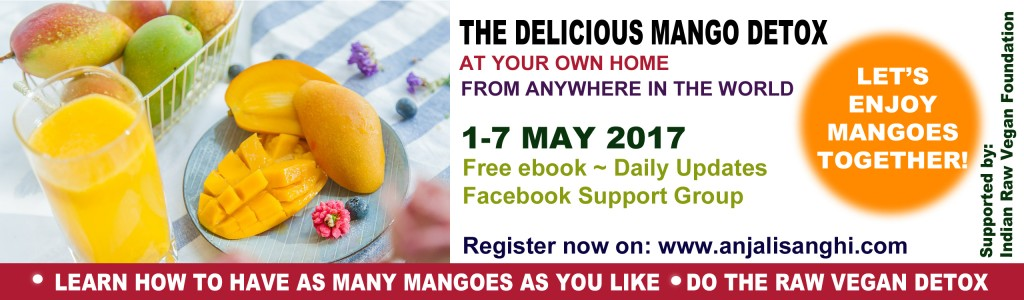 The Delicious Mango Detox: 1-7 May 2017: At Your Own Home
