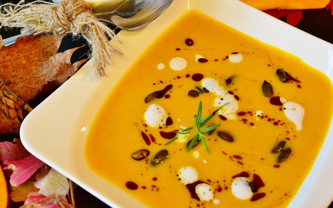 Recipe: PUMPKIN SOUP: Raw or Warm