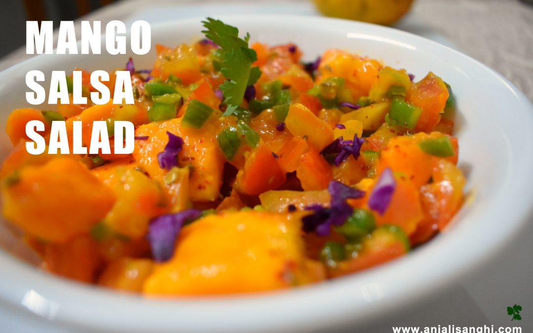Mango Salsa Delight Salad